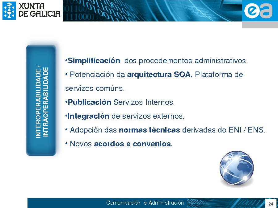 Presentación María José García Sexto. Subdirectora xeral de Sistemas de Información e Modernización da Administración Pública da Xunta de Galicia.